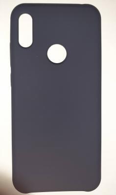 Чехол Silicone Cover для Honor 8A/ Huawei Y6S (2020)/ Honor 8A Prime/ Huawei Y6 темно-синий