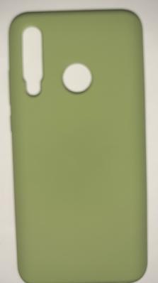 Чехол Silicone Cover для Honor 10i/ 20 lite (2019) мятно-зеленый