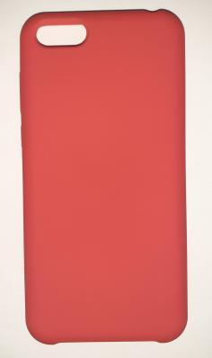 Чехол Silicone Cover для Honor 7S (2020)/ 7A (2018) Huawei Y5 Prime (2018) красный