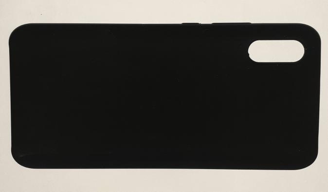 Чехол Silicone Cover для Xiaomi Redmi 9A (2020) черный