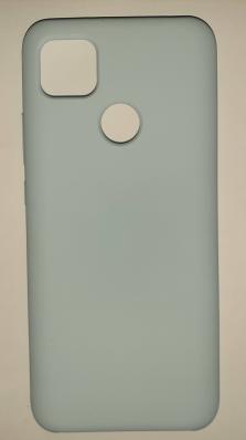 Чехол Silicone Cover для Xiaomi Redmi 9C (2020) голубой