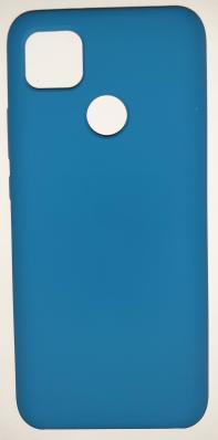 Чехол Silicone Cover для Xiaomi Redmi 9C (2020) синий