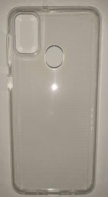 Силиконовый чехол для Samsung Galaxy M21, M215F (2020) ультратонкий прозрачный