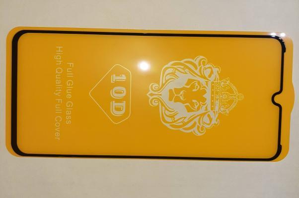 Защитное стекло для Xiaomi Redmi Note 7 Full Glue Original Glass 10D 0,3 мм (желтая подложка)