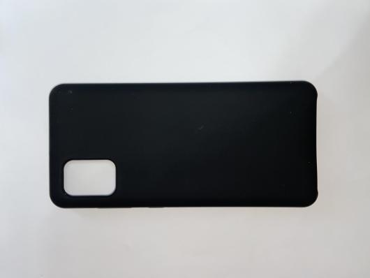 Чехол Silicone Cover для Samsung Galaxy A31, A315F (2020) черный