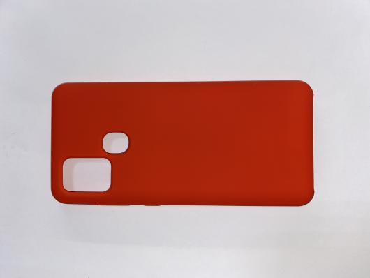 Чехол Silicone Cover для Samsung Galaxy A21S, A217F (2020) красный