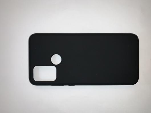 Чехол Silicone Cover для Honor 9A (2020) черный