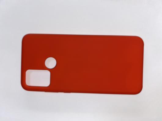 Чехол Silicone Cover для Honor 9A (2020) красный