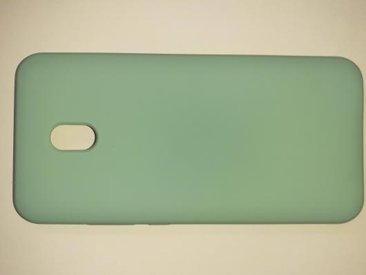 Чехол Silicone Cover для Xiaomi Redmi 8A (2019) синий океан