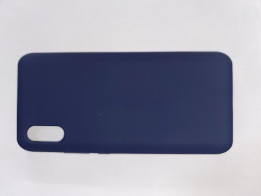 Чехол Silicone Cover для Honor 9A (2020) темно-синий