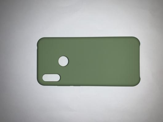 Чехол Silicone Cover для Honor 8A/ Huawei Y6S (2020)/ Honor 8A Prime/ Huawei Y6 мятно-зеленый