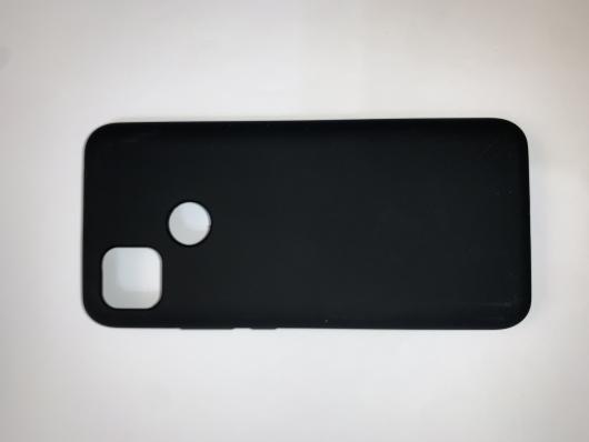 Чехол Silicone Cover для Xiaomi Redmi 9C (2020) черный