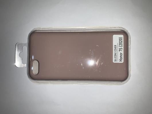 Чехол Silicone Cover для Honor 7S (2020)/ 7A (2018) Huawei Y5 Prime (2018) розовый песок