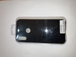 Чехол Silicone Cover для Honor 8A/ Huawei Y6S (2020)/ Honor 8A Prime/ Huawei Y6 черный