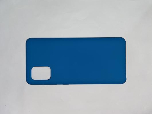 Чехол Silicone Cover для Samsung Galaxy A31, A315F (2020) синий