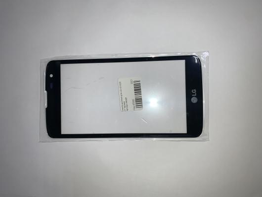 Стекло дисплея для LG X210DS K7 черный