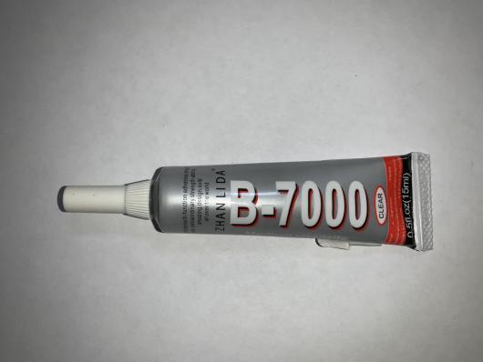 Клей для приклеивания тачскринов ZHANLIDA B-7000 15ml (прозрачный)