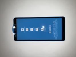 Защитное стекло Zipax FS для Samsung Galaxy A7, A750F (2018) черный
