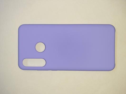 Чехол Silicone Cover для Huawei P30 Lite/ Honor 20S/ Honor 20 Lite (2020) светло-сиреневый