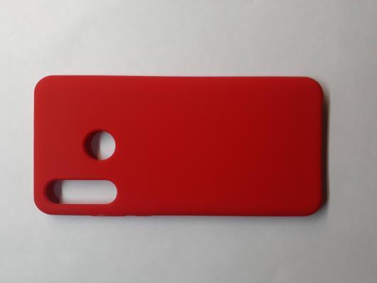 Чехол Silicone Cover для Huawei P30 Lite/ Honor 20S/ Honor 20 Lite (2020) красный