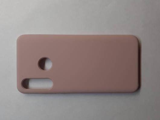Чехол Silicone Cover для Huawei P30 Lite/ Honor 20S/ Honor 20 Lite (2020) розовый песок