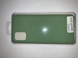 Чехол Silicone Cover для Samsung Galaxy A51, A515F (2019) мятно-зеленый