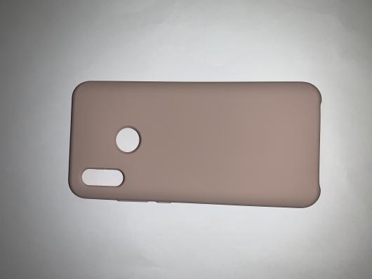 Чехол Silicone Cover для Honor 10 Lite (2018)/ Huawei Р Smart (2019) розовый песок