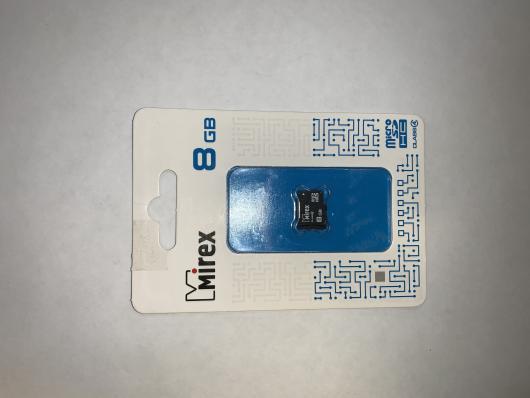 Флэш-карта microsd mirex 8 gb Class 4