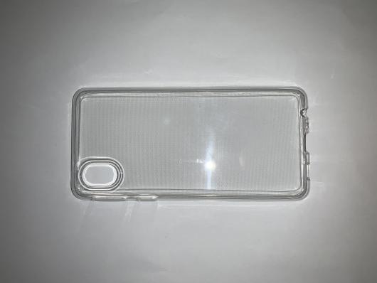 Силиконовый чехол для Samsung Galaxy A01 Core, A013F (2020) ультратонкий прозрачный