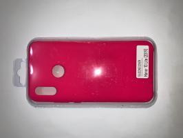 Чехол Silicone Cover для Honor 10 Lite (2018)/ Huawei Р Smart (2019) яроко-розовый