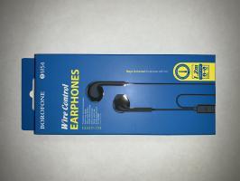 Гарнитура BOROFONE BM54 Maya Universal Earphones With Mic (черная)