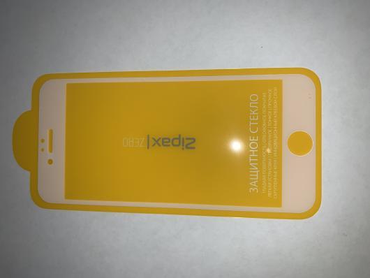 Защитное стекло Zipax Zero для iPhone 6, 6S белый