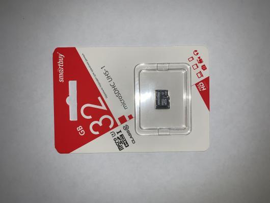 Micro sdhc карта памяти 32gb class 10 (без адаптера) (sb32gbsdcl10-00), Smartbuy