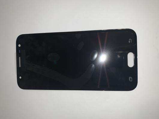 Дисплей Samsung J330F/DS (J3 2017)+тачскрин (черный) ориг 100%