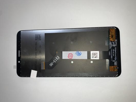 LCD дисплей для Xiaomi Redmi 5 Plus в сборе с тачскрином, черный