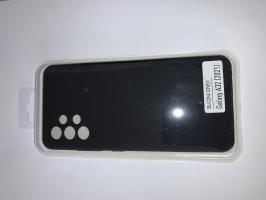 Чехол Silicone Cover для Samsung Galaxy A32, A325F, черный