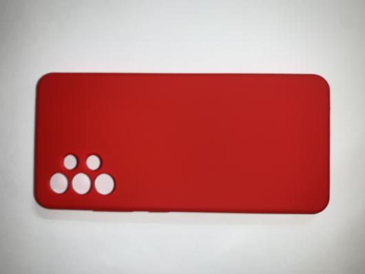 Чехол Silicone Cover для Samsung Galaxy A32, A325F, красный