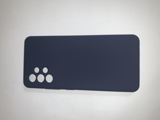 Чехол Silicone Cover для Samsung Galaxy A32, A325F, темно-синий