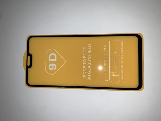 Защитное стекло для Huawei Honor 8X Full Glue Original Glass 10D 0,3 мм (желтая подложка)