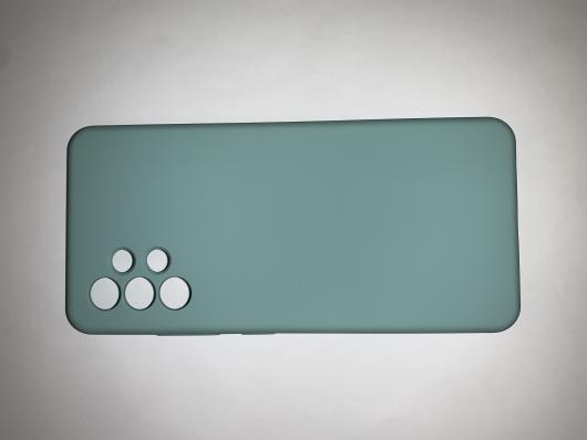 Чехол Silicone Cover для Samsung Galaxy A32, A325F, синий океан