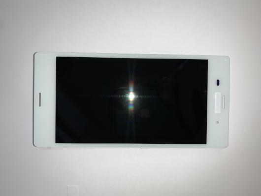 Дисплей для Sony D6603 Xperia Z3/ D6633 Xperia Z3 Dual с тачскрином, белый