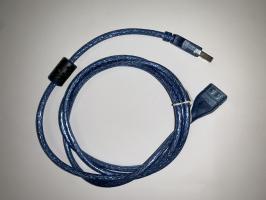 Удлинитель шт. USB - гн. USB, 1,8м, 5-905
