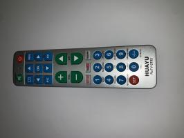 Универсальный пульт для разных брендов RuTV-ST02 (Amazon, YouTube, Netflix, серый, 50*170)