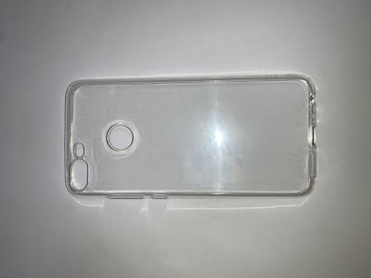 Накладка силиконовая для Honor 9 Lite, прозрачная