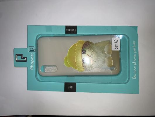 Накладка Phopart для Samsung A01, котёнок №5443