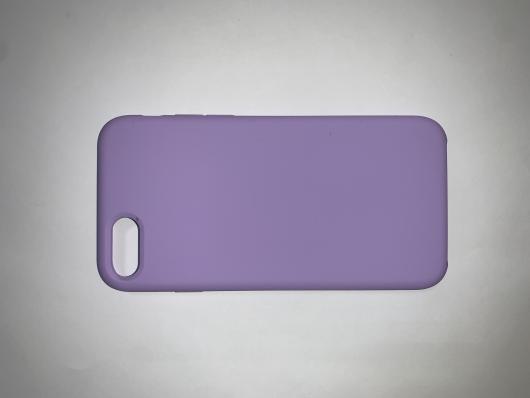 Накладка SILICONE COVER Soft-touch для Apple iPhone  7/8, фиолетовая