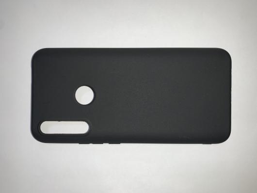 Накладка Silicone case NEW для Honor 9X, черная