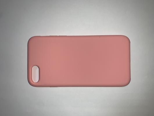 Накладка SILICONE COVER Soft-touch для Apple iPhone  7/8, персиковая