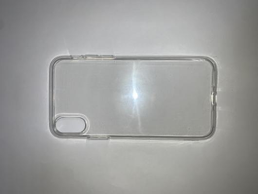 Накладка силиконовая для Apple iPhone  X, прозрачная