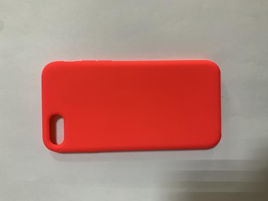 Накладка SILICONE COVER Soft-touch для Apple iPhone  7/8, розовая